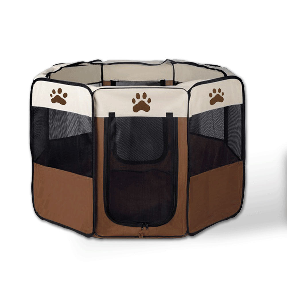 8 Panel Portable Puppy Dog Pet Exercise Playpen Crate