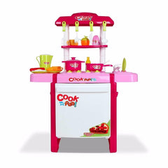 Birthday Cake Shop Pretend Role Play Dessert Toys Set Scanner Cash Register