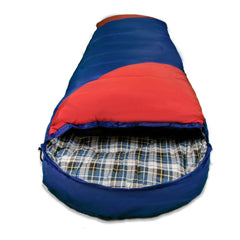 -20°C Sleeping Bag Bags Single Outdoor Camping Hiking Tent Winter Thermal Flannel