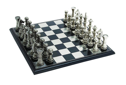 Raise Your Love For Opulence And Luxurious Craft With This Elegantly Etched  King Size Chess Set. Made Of The Best Grade Aluminum, Stainless Steel And  ...