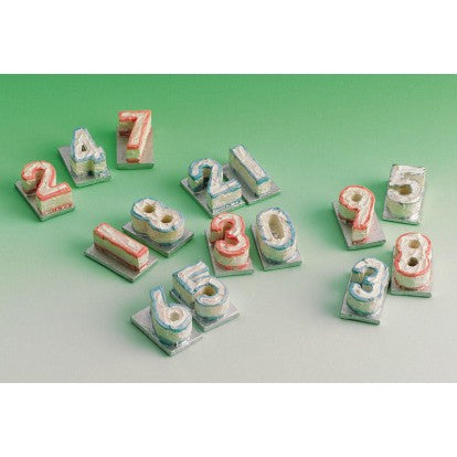 Number 2 Cake 3 Pack