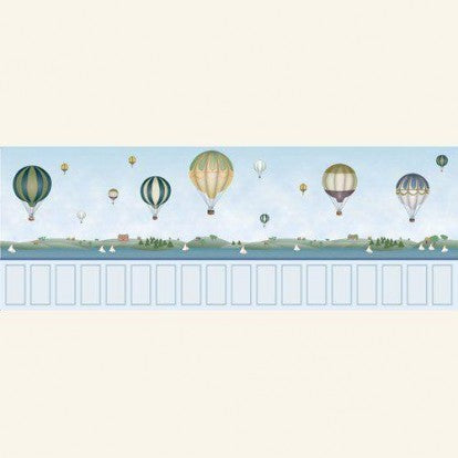 Balloon Mural Nursery Wallpaper