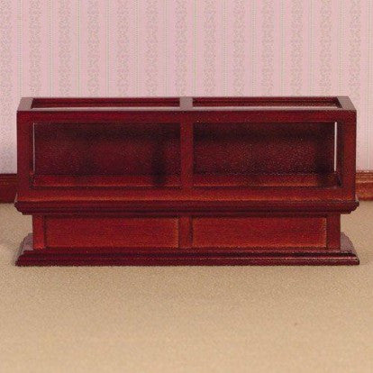 Shop Counter Unit Mahogany Finish