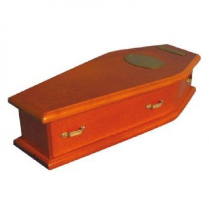 Dolls House Miniature Lined Coffin, Miscellaneous - The Dolls House Store