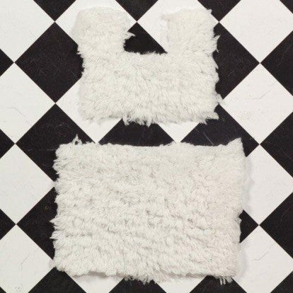 Dolls House Miniature Bathroom Mat Set 2 pcs, Bathroom - The Dolls House Store