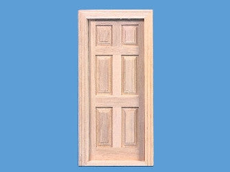 Dolls House Miniature Internal Door (inc 2x Architrave), Doors and Windows - The Dolls House Store