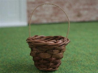 Dolls House Miniature Basket, Garden - The Dolls House Store