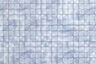 Dolls House Miniature Blue Tiles Per Sheet, Wallpaper - The Dolls House Store