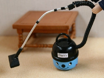 Dolls House Miniature Blue Hoover, Accessories - The Dolls House Store