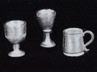 Dolls House Miniature Goblets and Tankard, Pub - The Dolls House Store