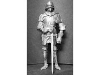 Dolls House Miniature Knight in Medieval Armour Kit, Study - The Dolls House Store