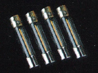 Dolls House Miniature 4 Lighting fuses  (250V 2A 6x30mm), Lighting - The Dolls House Store