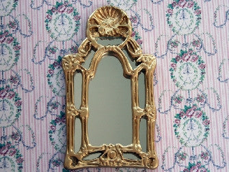 Dolls House Miniature Baroque Mirror, Accessories - The Dolls House Store