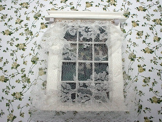 Dolls House Miniature Net Curtain, Curtains - The Dolls House Store