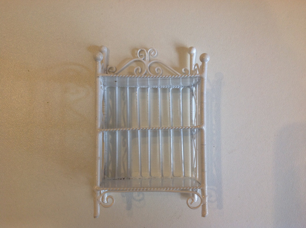 Shelf Unit White Wire