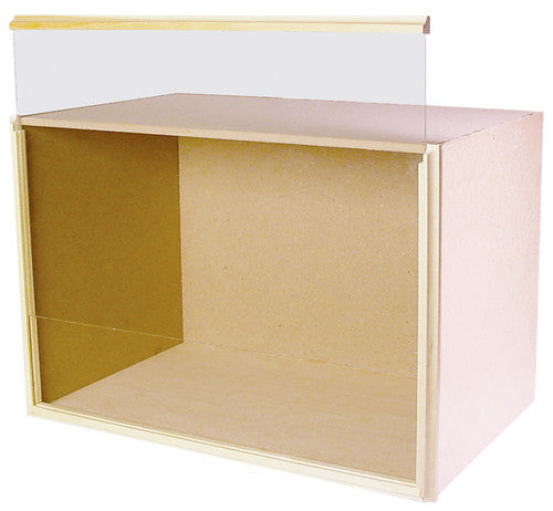 Dolls House Miniature 9in deep room box, Room Boxes and Displays - The Dolls House Store
