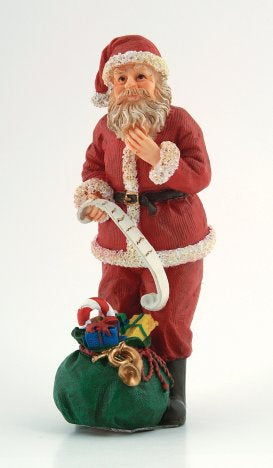 Dolls House Miniature Resin Doll Father Christmas, Christmas - The Dolls House Store
