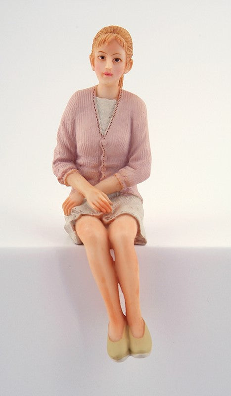 Dolls House Miniature Resin Doll Modern Woman, Dolls and Resin Figures - The Dolls House Store