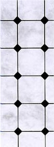Dolls House Miniature Marble Tiling Paper Black, Flooring - The Dolls House Store