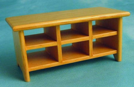 Dolls House Miniature Large Beech Coffee Table, Living Room - The Dolls House Store