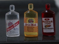 Dolls House Miniature Set Of 3 Bottles, Pub - The Dolls House Store