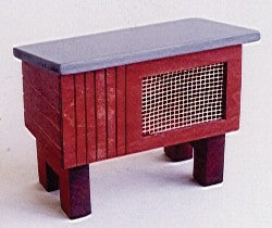 Dolls House Miniature Rabbit Hutch, Pets and Animals - The Dolls House Store