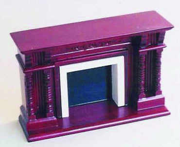 Dolls House Miniature Large Fireplace, Dining Room - The Dolls House Store