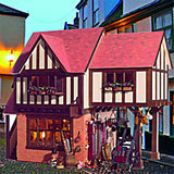 Dolls House Miniature Stratford Place Bakery Kit, Dolls Houses and Basements - The Dolls House Store