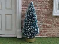 Dolls House Miniature Christmas Tree-Height 5 inches, Christmas - The Dolls House Store