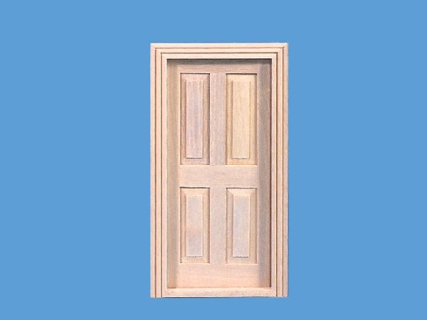 Dolls House Miniature Cottage Door, Doors and Windows - The Dolls House Store