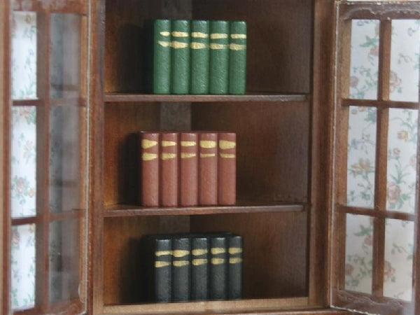 Dolls House Miniature Set Of 3 Books, Study - The Dolls House Store