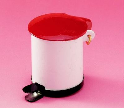 Dolls House Miniature Waste Bin, Kitchen - The Dolls House Store