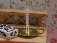Dolls House Miniature Chamber Stick, Dining Room - The Dolls House Store