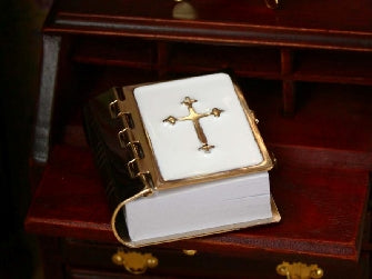 Dolls House Miniature Bible Printed, Accessories - The Dolls House Store
