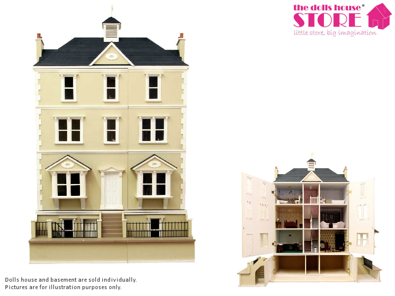 Dolls House Miniature Woodlands Seaview/ Gables Basement, Dolls Houses and Basements - The Dolls House Store