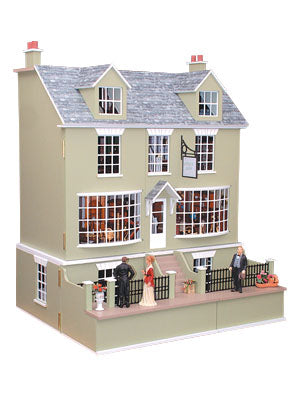 Dolls House Miniature Antiques Shop, Dolls Houses and Basements - The Dolls House Store