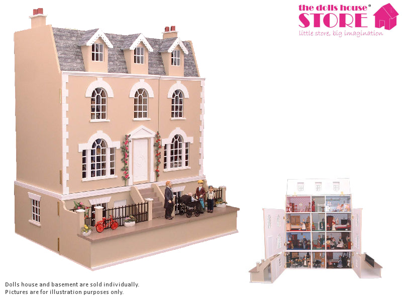 Dolls House Miniature Ash House, Dolls Houses and Basements - The Dolls House Store