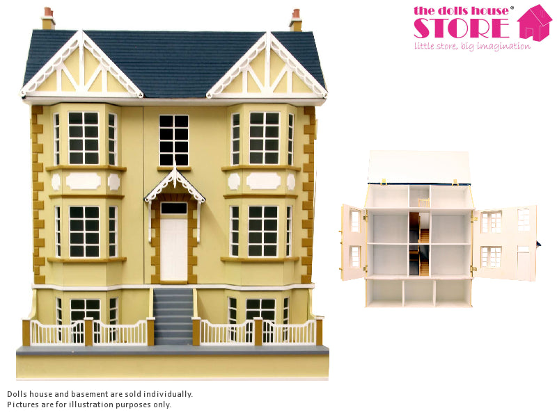 Dolls House Miniature Cedars Basement, Dolls Houses and Basements - The Dolls House Store