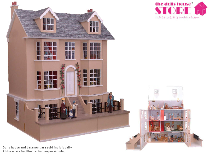 Dolls House Miniature Grove House, Dolls Houses and Basements - The Dolls House Store