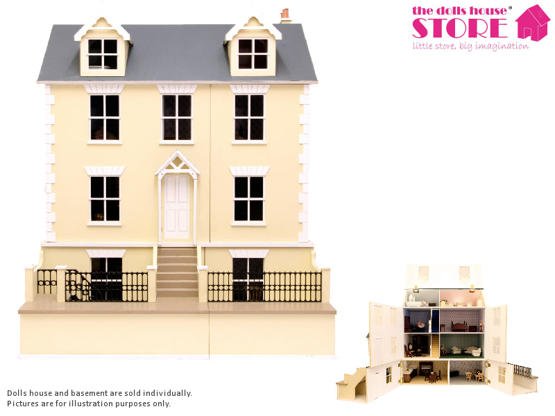 Dolls House Miniature Willow Cottage, Dolls Houses and Basements - The Dolls House Store