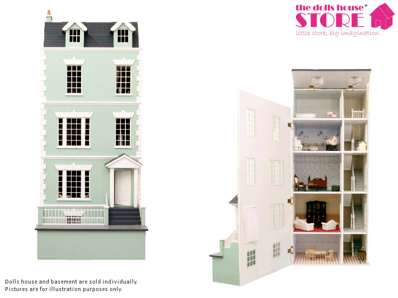Dolls House Miniature Laurels, Dolls Houses and Basements - The Dolls House Store