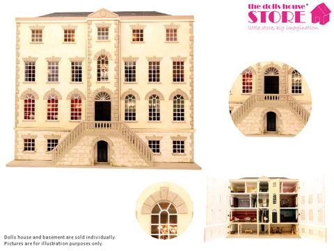 Dolls House Miniature Preston Manor, Dolls Houses and Basements - The Dolls House Store