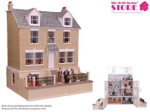 Dolls House Miniature Haven Cottage, Dolls Houses and Basements - The Dolls House Store