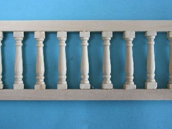Dolls House Miniature Balustrade 8mm, DIY - The Dolls House Store