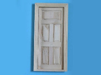 Dolls House Miniature 5 Panel Door, Doors and Windows - The Dolls House Store
