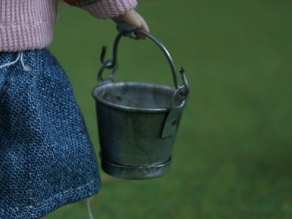 Dolls House Miniature Small Bucket, Accessories - The Dolls House Store