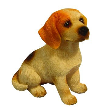 Dolls House Miniature Sitting Beagle, Pets and Animals - The Dolls House Store