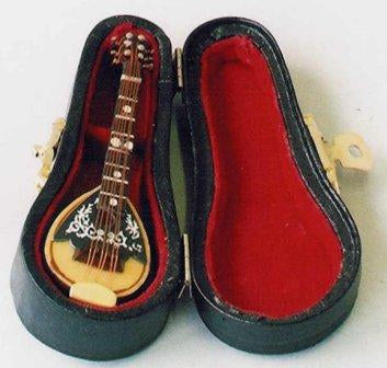 Dolls House Miniature Mandolin, Music Room - The Dolls House Store