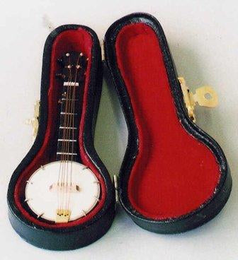 Dolls House Miniature Banjo, Music Room - The Dolls House Store
