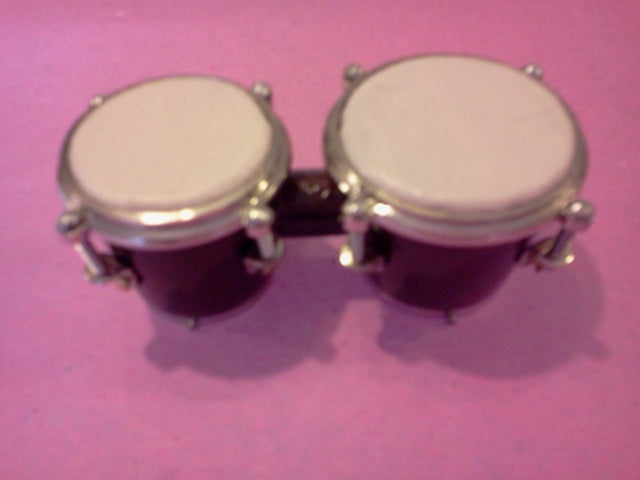 Dolls House Miniature Bongo Drums, Music Room - The Dolls House Store